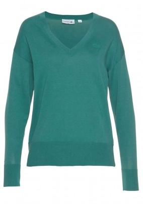 Žalias LACOSTE megztinis
