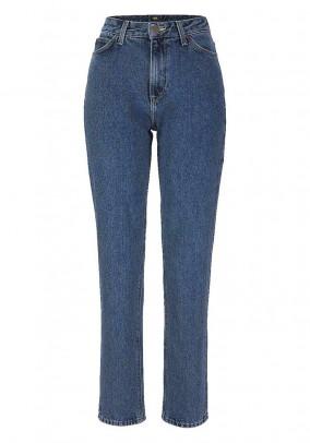 High waist jeans, blue