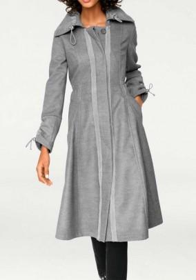Swinging coat, light grey