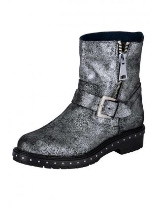 """Sidabriniai batai """"Metallic"""""""