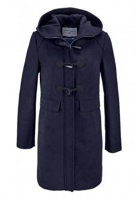 Brand Duffle Coat, navy