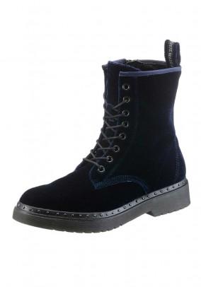 Mėlyni aksomo batai