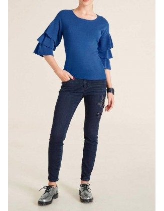 "Mėlynas megztinis ""Azure"""