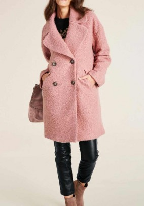 Short coat, rose