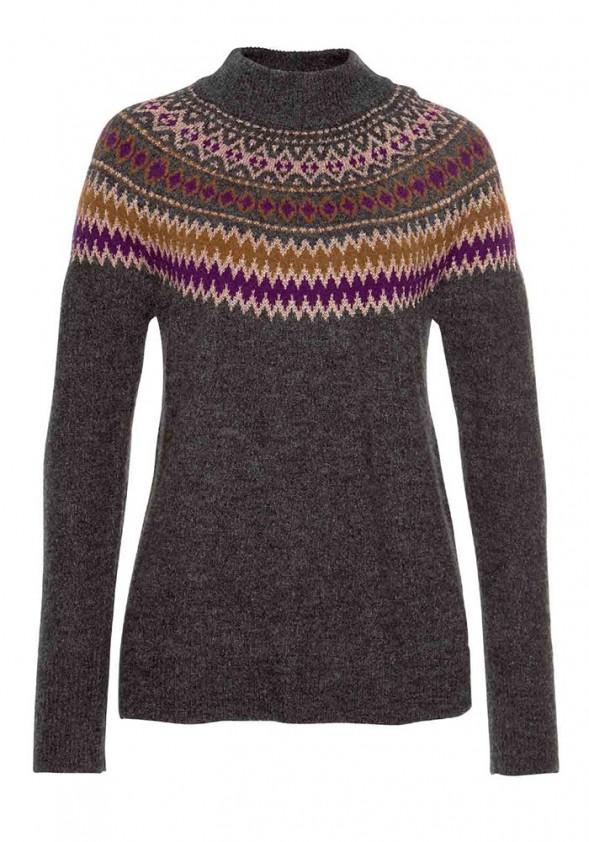 Pilkas vilnonis megztinis. Liko XL/XXL dydis