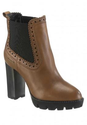 Odiniai Pepe Jeans rudi batai
