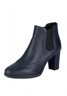 Tamsiais mėlyni The Flexx odiniai batai