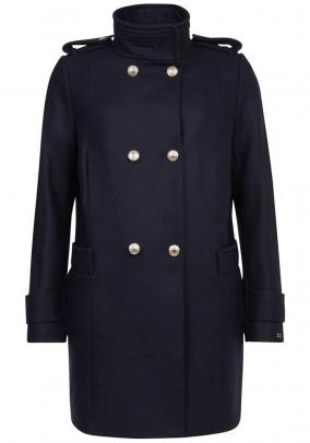 Wool coat, navy