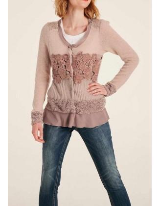 """Jaukus vilnos megztinis """"Rosi"""""""