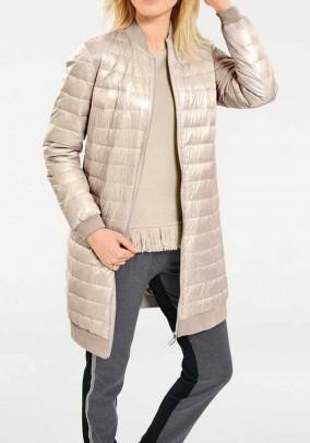 Women's coat, ecru