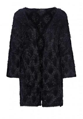 Ilgas juodas GUESS megztinis