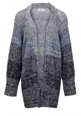 Labai šiltas ilgas vilnos megztinis