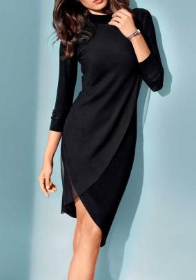 Optimizing dress, black