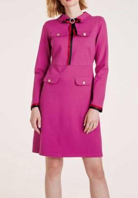 """Rožinė suknelė """"Brosche"""""""