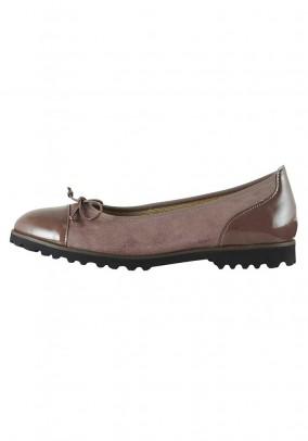 Ballerina shoe, mauve