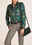 Žali marginti marškiniai