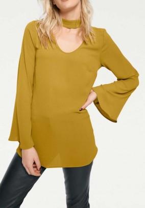 Blouse, yellow