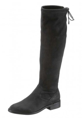 Leather imitation boots, grey