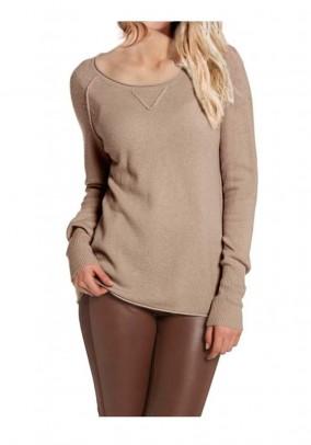 Brand cashmere sweater beige