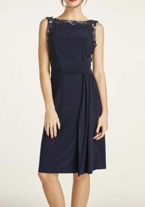 "Mėlyna kokteilinė suknelė ""Brake"""