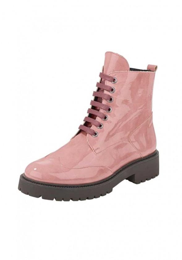 Lakinės odos rausvi batai