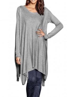 Sweater, grey blend