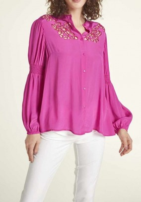 Blouse with bead embroidery, erica