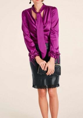Silk blouse, pink