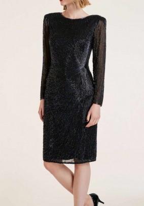 Bead dress, black