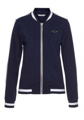 Bomber jacket, navy