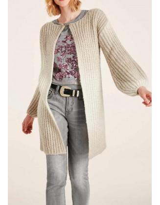 """Ilgas šviesus megztinis """"Ombre"""""""