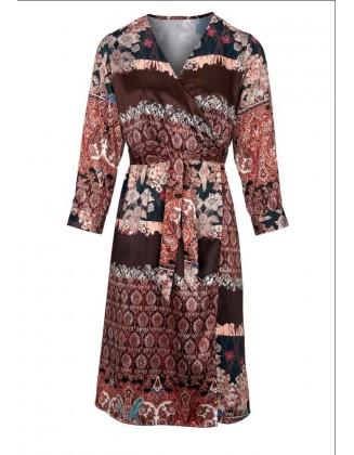 Marga susiaučiama suknelė