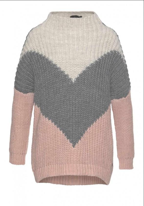 Šiltas Blue Fire Co. megztinis