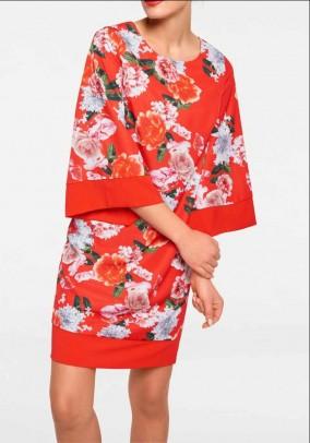 Vasariška ryški suknelė