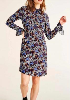 Didesnio dydžio marga suknelė
