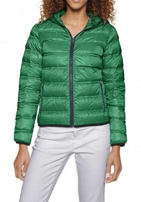 Down jacket, green