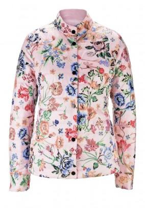 Reversible jacket, rose