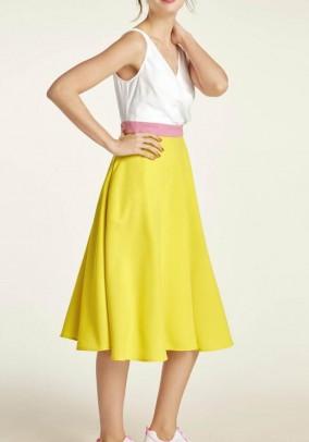 """Geltona romantiška suknelė """"Sunny"""""""
