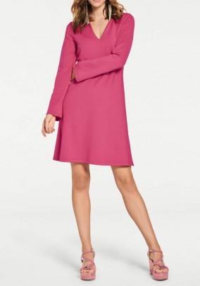 Jersey dress, pink