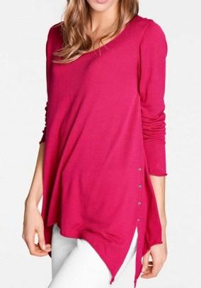 Fine knit sweater, pink