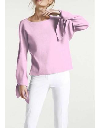 Levandų spalvos megztinis