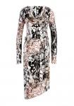 Marga midi ilgio suknelė