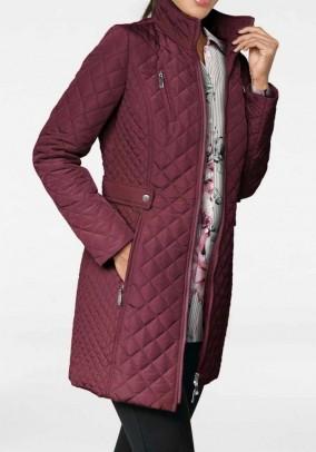 Quilt jacket, bordeaux