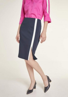 Skirt, midnight blue