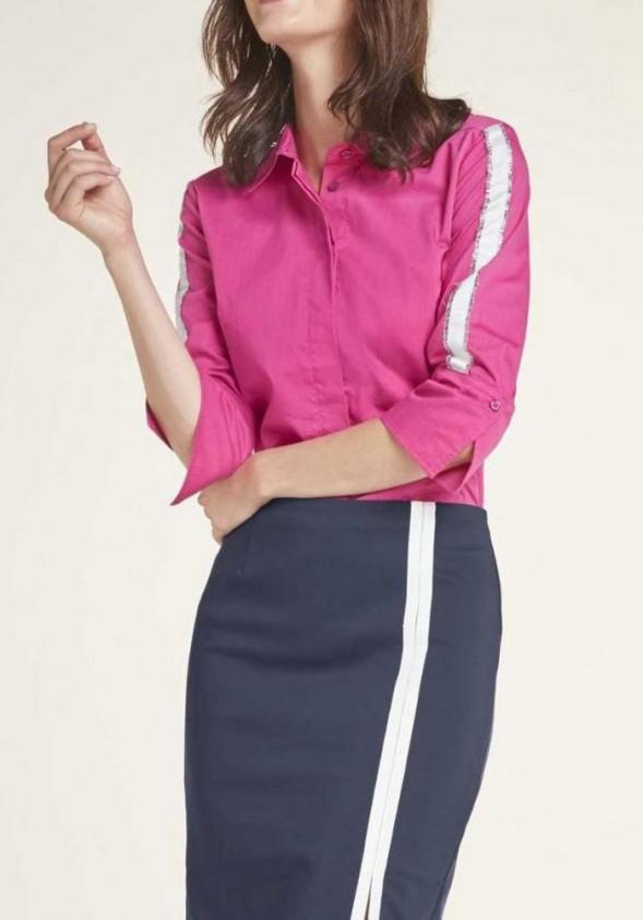 Rožiniai marškiniai