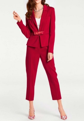 Suit, red