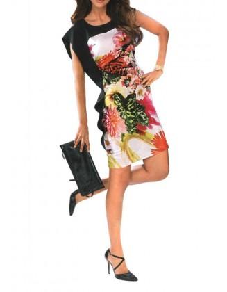 """Elegantiška gėlėta suknelė """"Semi"""""""