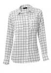 Balti languoti marškiniai