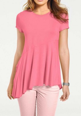 Jersey shirt, raspberry