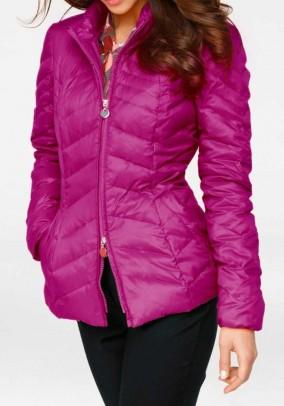 Down jacket, pink